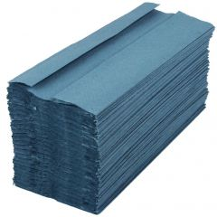 Blue C Fold 1Ply Hand Towels Janitorial Supplies