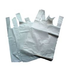 Jumbo Vest Carrier Bags Janitorial Supplies