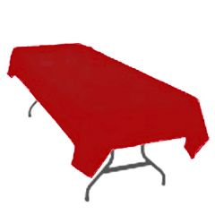 Swansoft Burgandy Tablecovers 120x120cm Janitorial Supplies