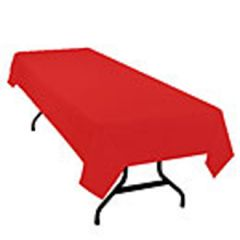 Swansoft RedTablecovers 120x120cm Janitorial Supplies