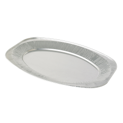 17 Inch Oval Foil Platters Janitorial Supplies