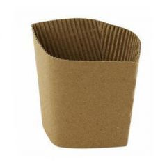 Brown Medium Cup Sleeves Janitorial Supplies
