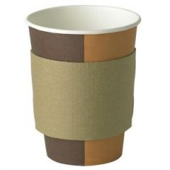 Brown Large Cup Sleeves Janitorial Supplies