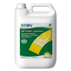 Concentrated Detergent Lemon 5 Litre Janitorial Supplies