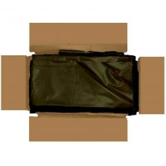 Heavy Duty Black Compactors Bags Janitorial Supplies