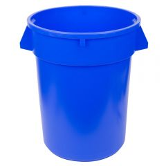 Huskee 75 litre Blue Round Bin Janitorial Supplies