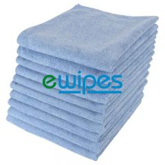 Blue Microfiber Cloths Janitorial Supplies