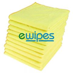 Yellow Microfiber Cloths Janitorial Supplies