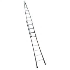 Two Section ''A'' Window Cleaning Ladder Janitorial Supplies