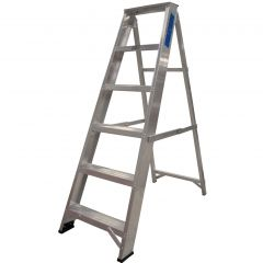 Ladder Aluminium Builders Steps 6 tread Janitorial Supplies