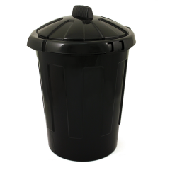 Refuse Bin with Lid 80 Litre Janitorial Supplies
