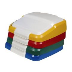 Maize Indoor Flat Top Lid Janitorial Supplies