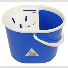 Blue 15 litre  Mop Bucket Oval Janitorial Supplies