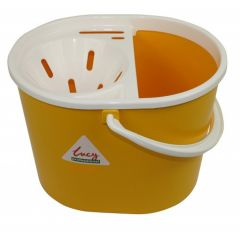 Yellow 15 litre  Mop Bucket Oval Janitorial Supplies