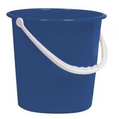 Blue 10 Litre Round Bucket Janitorial Supplies