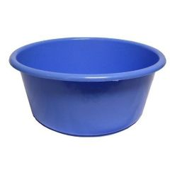 Blue Washing Up Bowl 14 Inch Round Janitorial Supplies