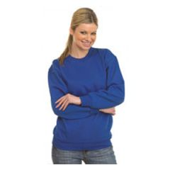 Navy Blue Large Sweatshirt Janitorial Supplies