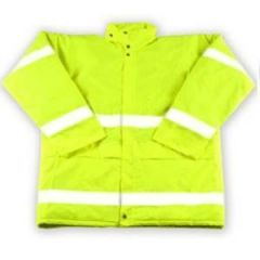 High Visibility Yellow Jacket  - Large Janitorial Supplies