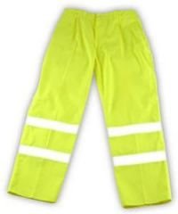 High Visibility Yellow Trousers - Extra La Janitorial Supplies