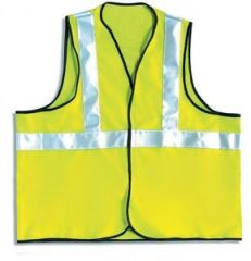 Vest High Visibility 1 Band  Certified EN Janitorial Supplies