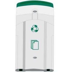 100 Litre Paper Recycling Bin Janitorial Supplies