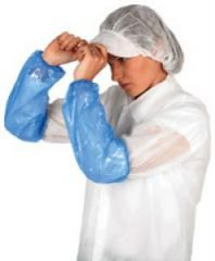 Blue Polythene Oversleeves Janitorial Supplies