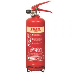 2 Litre Foam Fire Extinguisher Janitorial Supplies