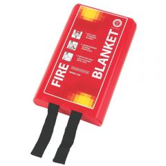 Fire Blanket 1m x 1m Rigid Box Janitorial Supplies