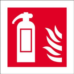 Fire Safety Signal 10cmx10cm Rigid Janitorial Supplies