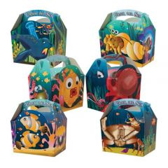 Meal Boxes Under The Sea Design