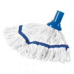 Exel Revolution Mop Head  250g Blue Janitorial Supplies