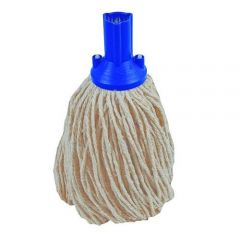 Blue  PY Mop Head Exel 250g Janitorial Supplies