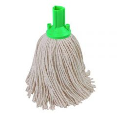 Green PY Mop Head Exel 250g Janitorial Supplies