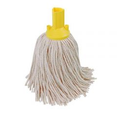 Yellow PY Mop Head Exel 250g Janitorial Supplies