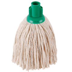 Green PY 12 Socket Mop Head Janitorial Supplies