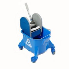 Blue Kentucky  Bucket and  Wringer Janitorial Supplies