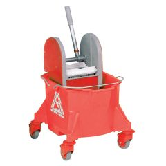 Red Kentucky Bucket and Wringer Janitorial Supplies