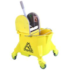 Yellow Kentucky Bucket and Wringer Janitorial Supplies