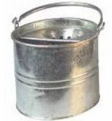 10 Litre Galvanised Bucket Janitorial Supplies