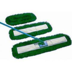 Green Dust Beater Set 40cm Janitorial Supplies
