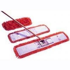 Red Dust Beater Set 80cm Janitorial Supplies