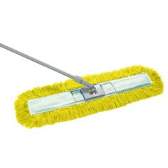 Yellow Dust Beater Set 80cm Janitorial Supplies