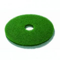 Green 15 Inch Floor Pads Janitorial Supplies