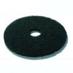 Black 17 Inch Floor Pads Janitorial Supplies