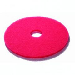 Red 17 Inch Floor Pads Janitorial Supplies