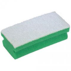 Green Easigrip Sponge Scourer Janitorial Supplies