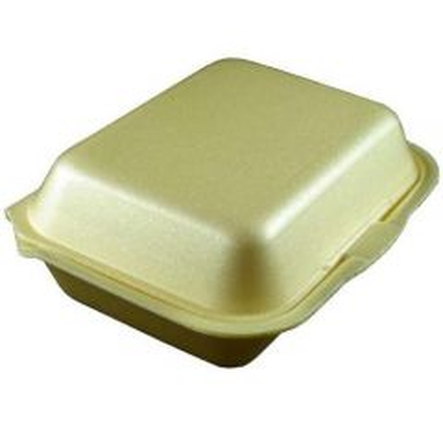 Polystyrene Hinged All Purpose Food Box