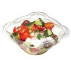 1000cc Tulipack Hinged Salad Containers Janitorial Supplies
