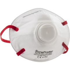 Valved Dust/ Mist/ Fume Respirator Janitorial Supplies