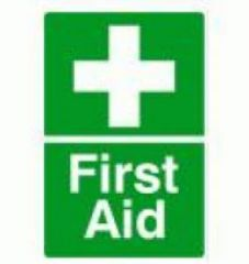 First Aid 150x110 Self Adhesive Janitorial Supplies